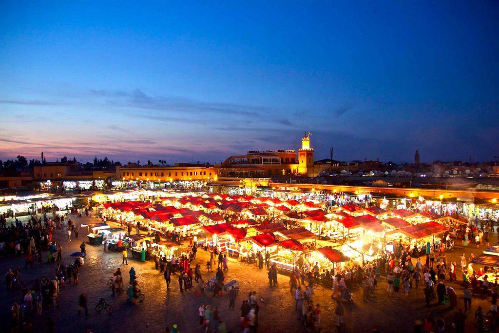 Djemaa-el-Fna- marrakech