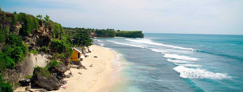 Playa de Balangan En Kuta Bali