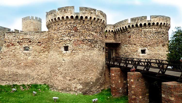 Fortlaleza de Kalemegdan en Belgrado, Serbia
