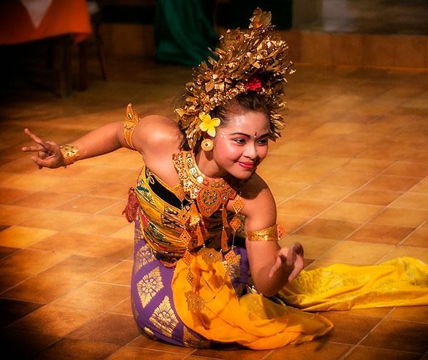 Danza tipica balinesa