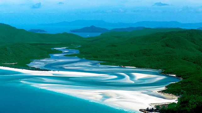 Australia e islas Whitsunday
