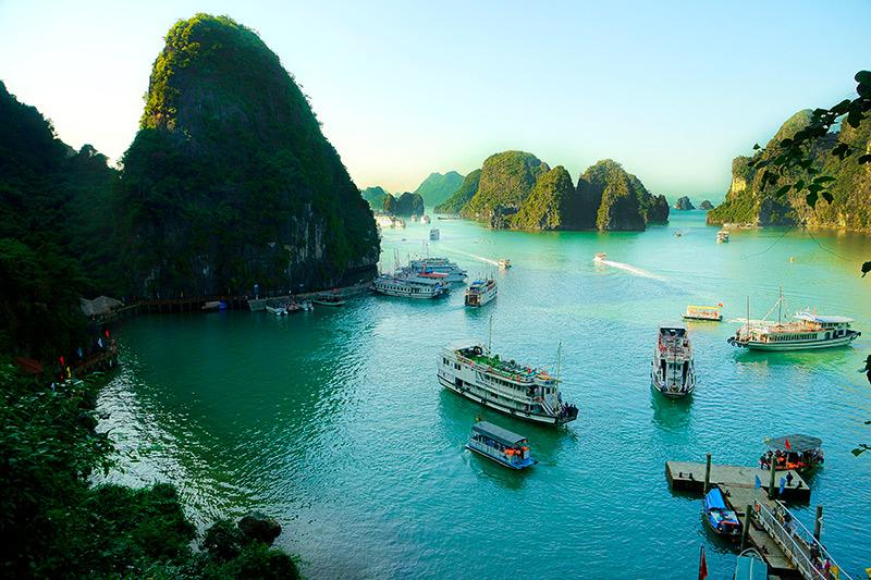 bahia de Halong, vietnam, luagromantico