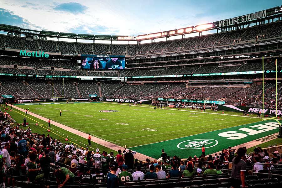 ver partido de futbol americano en nueva york