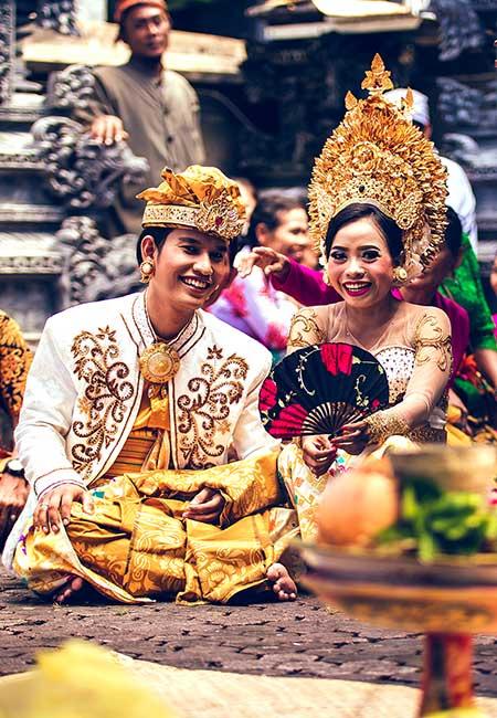 Ceremonia de boda en Bali