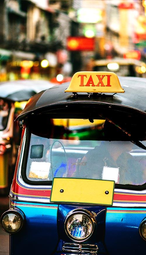 moto taxi en Bali
