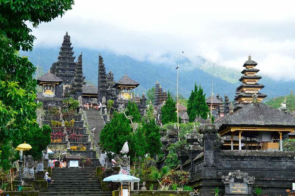 Templo Hinduista Pura Besakih en Bali