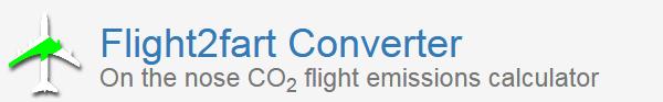 conversor co2 de vuelos an aire