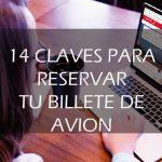 14 claves para reservar un billete de avión sin sorpresas