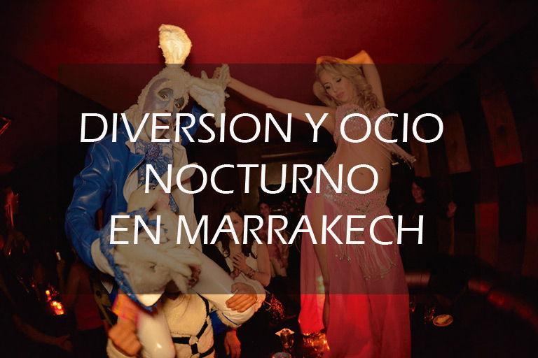 Fiestas nocturna en Marrakech
