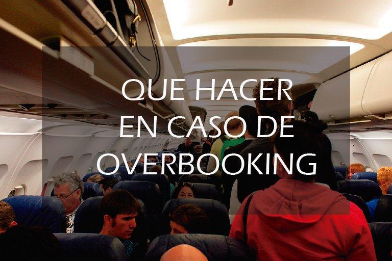 como reclamar un overbooking