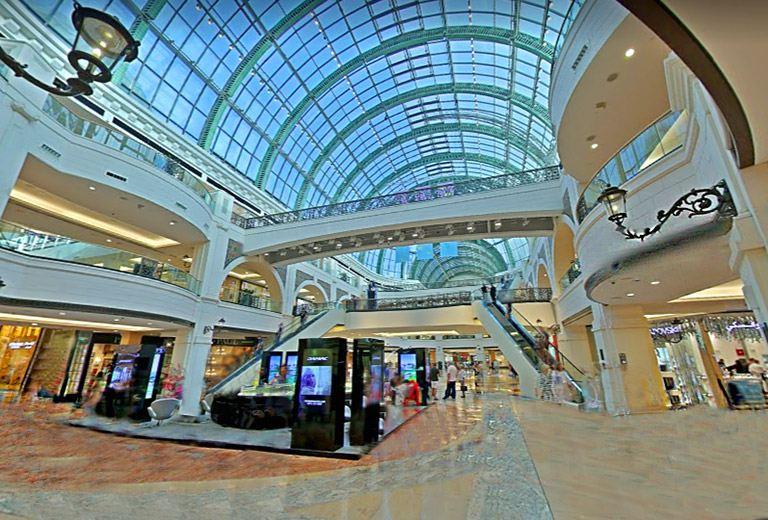 los centros comerciales son una razón para viajar a Dubai